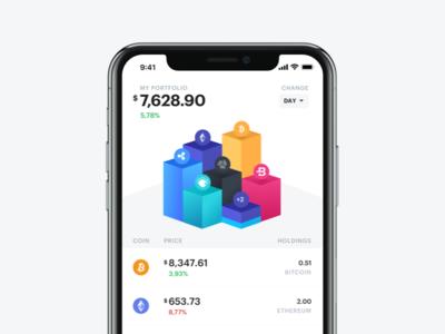 Bloko.io – Bitcoin & Altcoin Portfolio tracker