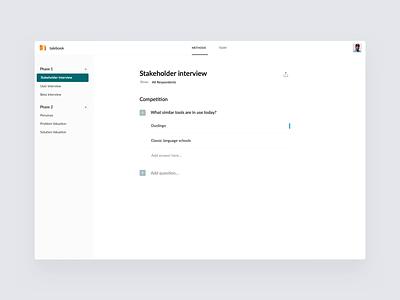 Talebook – Modal clean app web ux ui