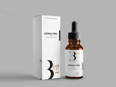 Derma Peel - Product Package Design logo illustration branding identity label design product design package design graphic design design branding