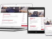 Responsive Blog Pages