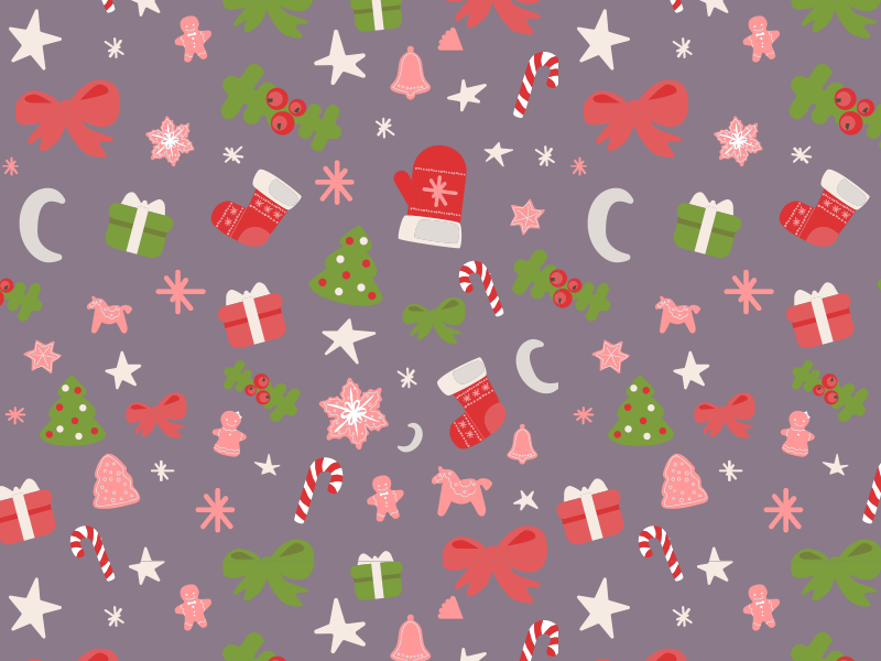 Christmas Seamless Pattern free download pattern illustrator vector xmas freebie christmas