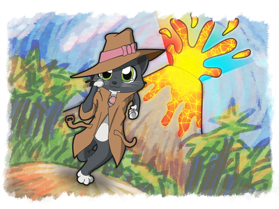 Science With Hazel: Agent Lyra Adventures illustration