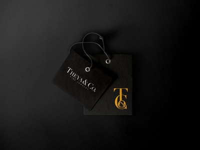 THEYA & Co. - Fine Jewelry Branding e-commerce jewelry shop jewelry logo branding and identity illustration typography design branding