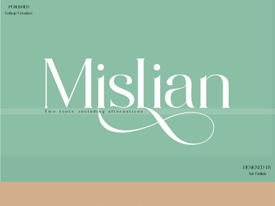 Mislian font Mislian font supports Character Map typography ux ui illustration graphic design design motion graphics branding vector font serif logo serif font font
