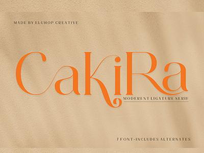 Cakira Serif vector f ux icon minimal app serif seri typography illustration design motion graphics serif font font serif beautiful fonts font menu restaurant fonts branding logo graphic design