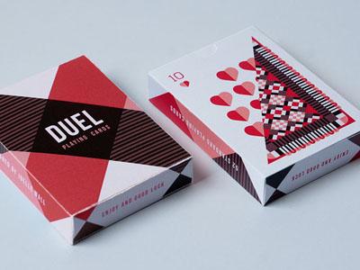 Duel Playing Cards kickstarter playing cards art design illustration