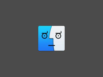 Fndr finder apple osx icons
