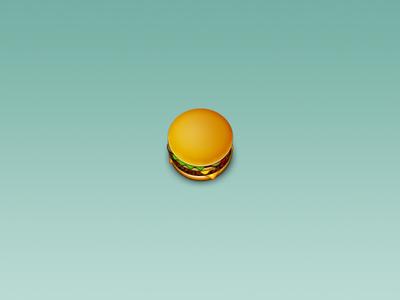 McBurger food burgers icons
