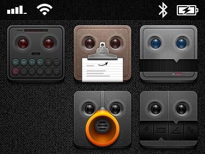 Jaku - Tapbots ios icons iphone theme