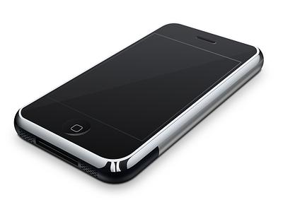 iPhone 2G Front View vector art sketchapp iphone 2g iphone