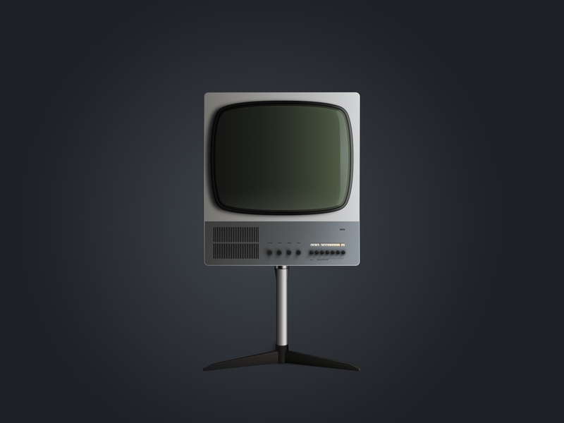 BRAUN FS80 dock icon macos icons dieterrams braun crt tv