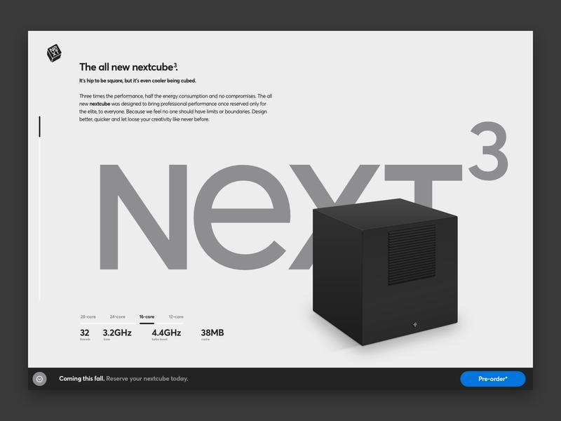 NeXT Universe steve jobs nextcube ui apple webdesign