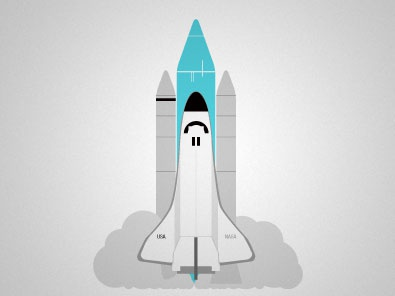 The Last Space Shuttle space shuttle illustration nasa