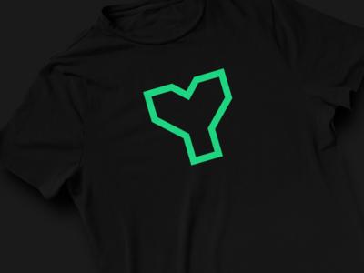 JOYte t-shirt logo icon minimal typography flat vector t-shirt identity ui branding design