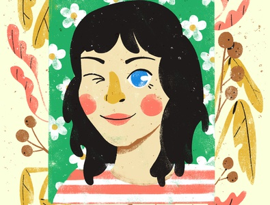 Portrait custom commission digital illustration digital art robin sheldon illustration print portrait