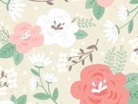 Floral Wedding Pattern