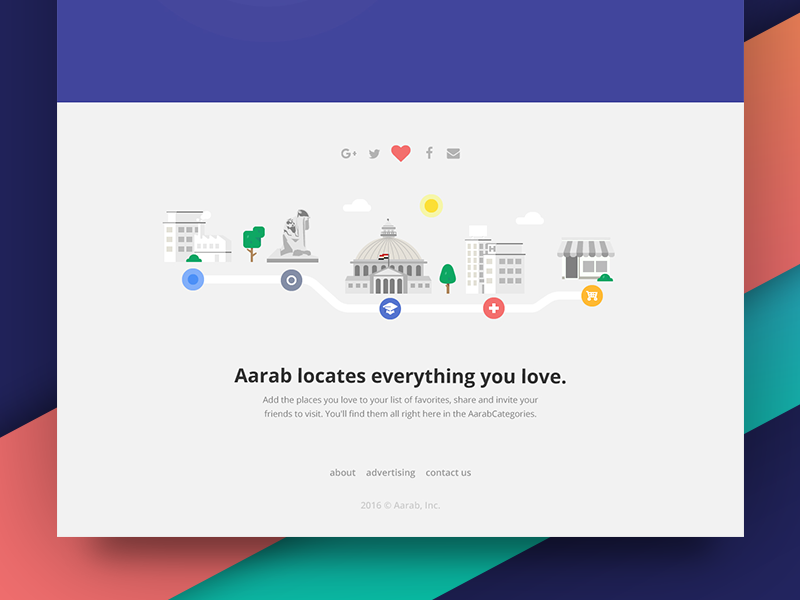 Aarab app landing page  icon application identity app landingpage