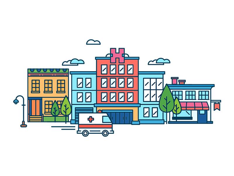 illustration for vaccinecare platform webdesign medicine illustration