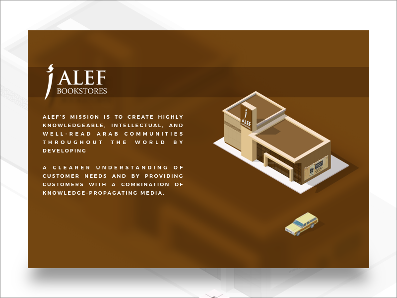 Alef store book alef city building