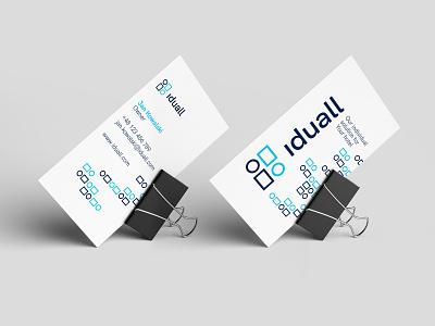 Iduall BC individual bc bcard design furniture developement typography branding and identity brand 2kropek branding agency bizness studio logo branding