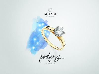 Aclari diamonds - key visual