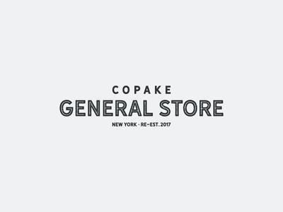 Copake General Store Branding