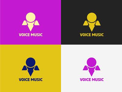 Voice Music Logo Design app karoke app music app music adda logo sing logo songit logo music vector logo voice logo creative music logo music logo karoke logo voice music graphic design branding logo