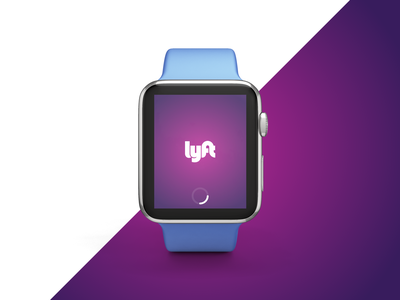 Lyft iWatch Redesign Concept booking request ux ui app apple watch concept redesign lyft