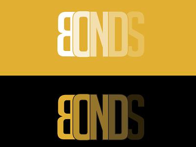 BONDS - Custom Typography Logo minimalist logo creative lgo sidlogodesign intage logo modern logo luxury logo professional logo initials typography logo wordmark logo lettering custom logo branding logo graphic design