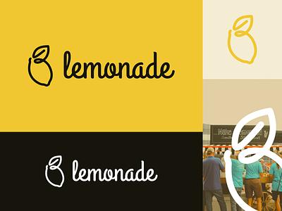 Dribbble Playoffs: Lemonade Stand Brand Identity brand vector design illustration brand identity branding logo fruits black yellow lemonade stand lemonade lemon lemons playoffs dribbble playoffs dribbble