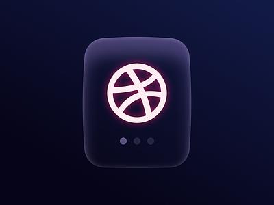 Design Rebound: Neon Glass Effect using Dribbble Logo design figma hack tutorial blur glass effect dribbble carousel pod airpod slide branding brand logo web design mobile effect glass neon ui