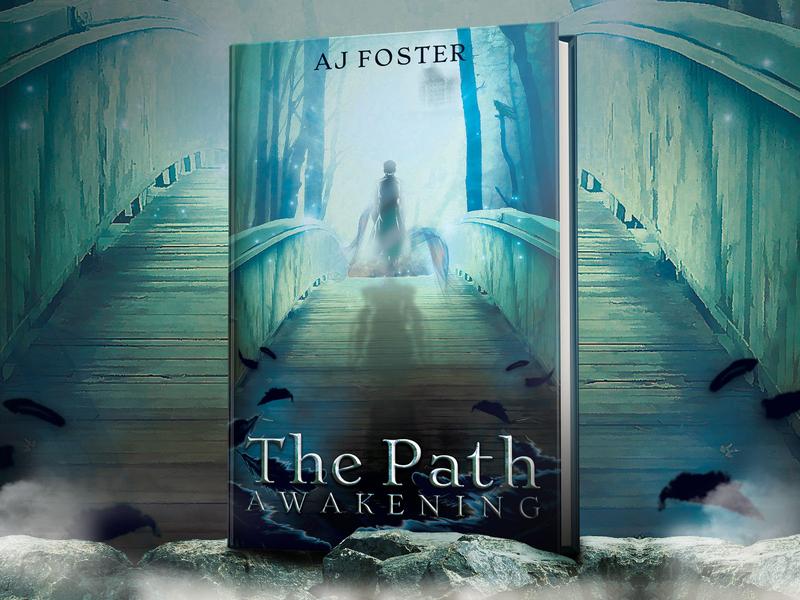 The Path: Awakening - book cover design fantasy book cover book bridge path