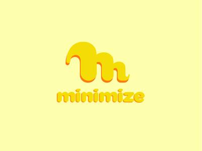 M is for minimize playful minimize m letter m