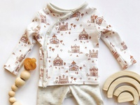 Surface Design for a Baby Layette