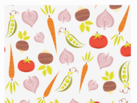 Veggie Pattern Illustration