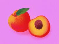 Peaches Illustration
