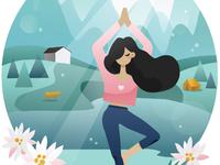 Illustration for Generation Yoga Tour