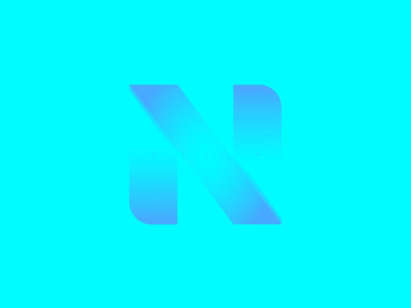 #typehue N letterform typehue typography letter n type