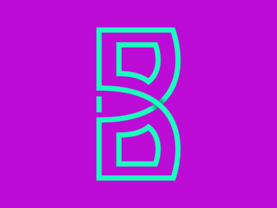 B by Bill Cindrich  via dribbble