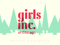 Happy Holidays from Girls Inc Chicago