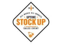 Uptime stock up logo branding vector illustration logo advertising design graphic design art direction