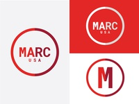 MARC USA rebranding branding illustration type logo design advertising vector graphic design art direction
