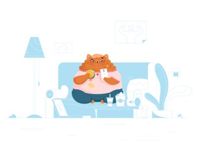 Fatty Kitty