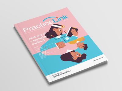 medical magazine cover