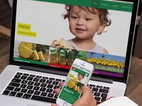 Fresh Del Monte 'Fruits.com' Consumer Wesbite