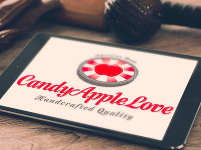 Candy Apple Love Branding brand logo