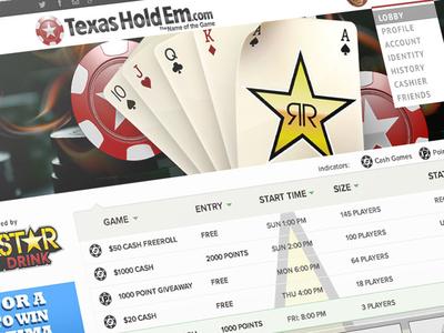 Texasholdem Poker System casino poker gaming game
