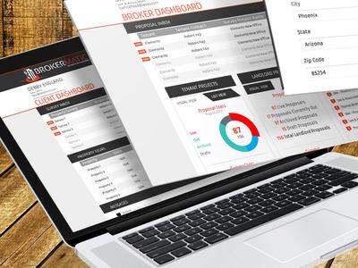 Brokermatic Digital Design web app web digital design