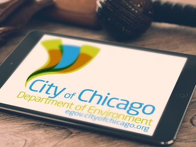 City of Chicago Branding logo id design branding