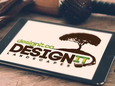 Designit Landscapes Branding logo id design branding